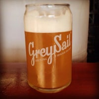 Photo taken at Grey Sail Brewing of Rhode Island by Russ B. on 8/3/2013