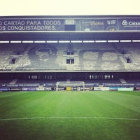 Photo taken at Estádio D. Afonso Henriques by Luís C. on 3/16/2013