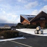 Photo taken at Wagner Vineyards by Brendan K. on 2/1/2013