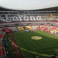 Photo taken at Estadio Azteca by Juan Pablo A. on 11/9/2013