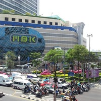 Photo taken at MBK Center by Nex O. on 3/26/2013