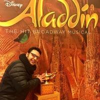 Photo prise au Aladdin @ New Amsterdam Theatre par Mehmet Akif D. le1/13/2018