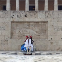 Photo taken at Syntagma Square by Pera P. on 12/2/2012