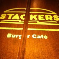 Photo taken at Stackers Burger Café by Gwen G. on 7/21/2013