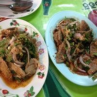 Photo taken at จิ้มจุ่ม ส้มตำ ลาบหมู ตลาดพระราม5 by Dora_ a. on 7/20/2013
