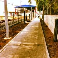 Photo taken at Tren Suburbano San Rafael by Julio S. on 5/10/2013