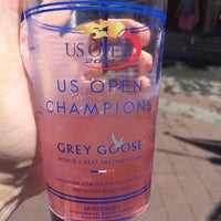 Photo taken at Grey Goose Bar - US Open by Scott P. on 8/29/2014