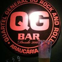 Photo taken at Q.g. Rock Bar by Felipe Augusto C. on 11/29/2012