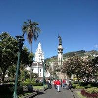 Foto tomada en Plaza Grande por Freddy P. el 3/11/2013