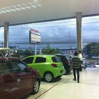 Photo taken at Mitsubishi Motors | Kanchana Equipment by GoLa T. on 9/27/2012