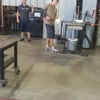 Photo taken at Morean Glass Studio & Hot Shop by Cher R. on 8/9/2015
