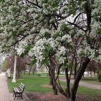 Photo taken at Eugenie Triangle Park by MK on 5/12/2014