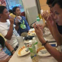 Photo taken at Jollibee by Rie A. on 1/2/2013