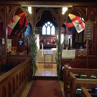 Photo taken at St Mary's New Westminster by Roxy C. on 11/3/2013