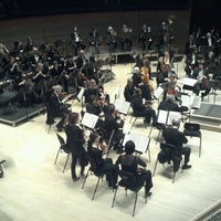 Photo taken at Francis Winspear Centre by Jeremy R. on 3/8/2013