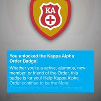 Photo taken at Kappa Alpha by Ekene N. on 10/7/2013