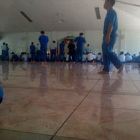 Photo taken at Masjid Baitul Jannah. (PT. Sumi Rubber Indonesia) by Riki A. on 6/28/2013