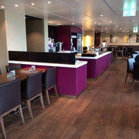 Photo taken at Executive Lounge   Marriott Hotel Berlin by sv H. on 10/12/2013