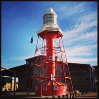Photo taken at Port Adelaide Lighthouse by sv H. on 4/20/2013