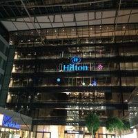 Photo taken at Hilton Frankfurt Airport by sv H. on 11/27/2012