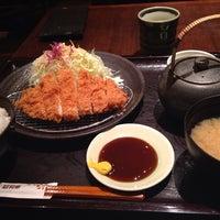 Photo taken at Tonkatsu Wako by ELNINO エ. on 12/18/2013