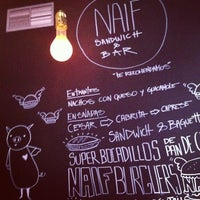 Photo taken at Naif Sandwich & Bar by Aleyda S. on 12/15/2012