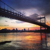 Photo taken at Astoria Park by Derek O. on 6/25/2013