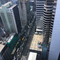 Photo taken at PBCom Tower by Serkan O. on 3/10/2017