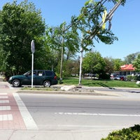 Photo taken at Monon Trail at Broad Ripple Apartments by Michael &. on 5/14/2013