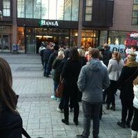Photo taken at Kauppakeskus Hansa by Enni A. on 4/11/2013