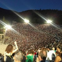 Photo taken at Epidaurus Ancient Theatre by MaryLou T. on 7/22/2017