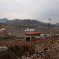 Photo taken at dağ-san Harputlu göleti sulama Şantiyesi by Burak Ö. on 12/24/2013