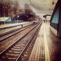Снимок сделан в Платформа Маленковская пользователем Кристиан Б. 11/8/2012