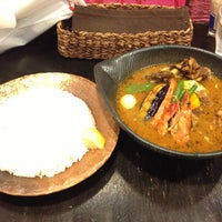 Photo taken at Soup Curry lavi エスタ(ESTA)店 by shiraoki on 5/11/2013
