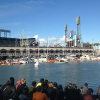 Photo taken at McCovey Cove by Michael Y. on 11/10/2012