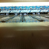 Photo taken at Cosmic Bowling by 👣zeyno👣 on 2/6/2013