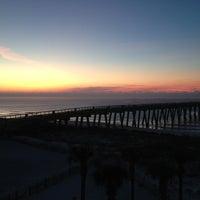 Photo taken at Navarre Beach by Ashley K. on 12/30/2012