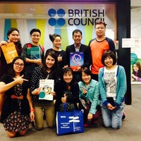 Photo taken at British Council by Praewary K. on 5/22/2014