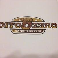 Photo taken at OitoMeiaZero Hamburgueria by Fernando B. on 8/8/2013