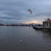 Photo taken at İDO Bostancı Deniz Otobüsü İskelesi by Murat on 1/12/2013