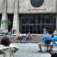 Photo taken at Wake County Courthouse by Michael I. on 4/27/2013