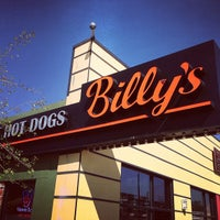 Photo taken at Billy's Gourmet Hot Dogs by Gabe M. on 10/11/2012