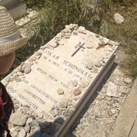 Photo taken at Oscar Schindler's Grave by Jhoana N. on 5/4/2013
