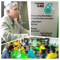 Photo taken at Petronas Gas Export Terminal by Che Nurjaidy on 1/30/2014