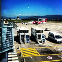 """Photo taken at Aeroporto di Firenze """"Amerigo Vespucci"""" (FLR) by Fabrizio P. on 7/1/2013"""