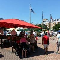 Photo taken at Old Town Farmers' Market by Christopher H. on 6/1/2013