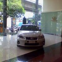 Photo taken at Mitsui Bussan Automotive (Lexus Sukhumvit) by Leela P. on 1/9/2013
