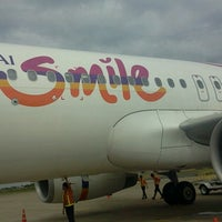 Photo taken at Thai smile check in by Leela P. on 6/20/2013
