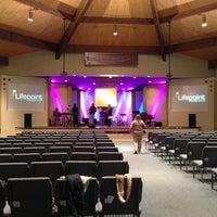 Photo taken at Lifepoint Christian Church by Joshua P. on 1/6/2013