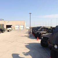 "Photo taken at Motor Pool @ Armed Forces Reserve Center by Christopher ""Scooter"" C. on 9/5/2013"